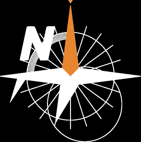 Navalapp logo, white.